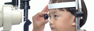 children's eye exam