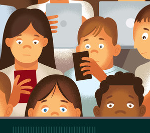 New York Times article about children and screen addiction (Screen Addiction Is Taking a Toll on Children),